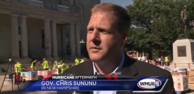 Sununu NH Hurricane Relief WMUR