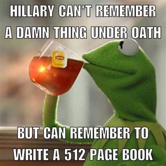 Hillary's memory