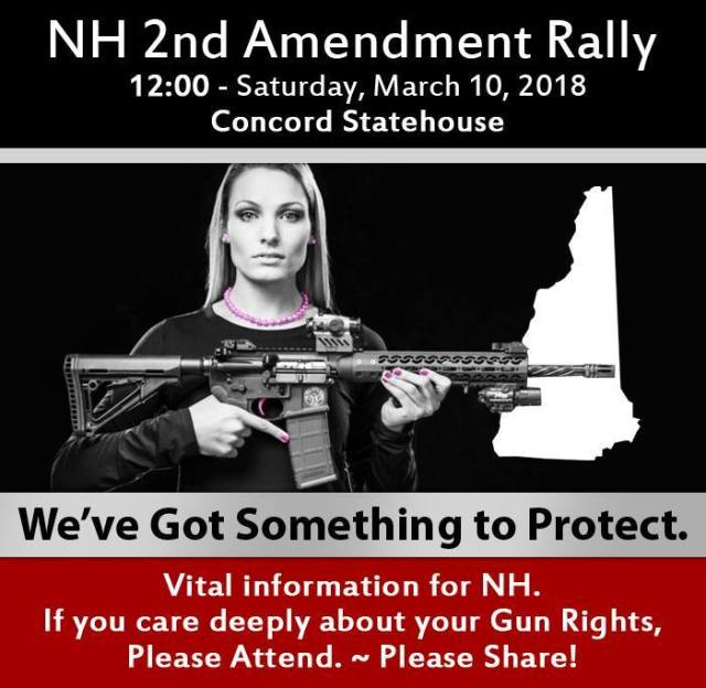 2A Rally March 10th, Concord NH
